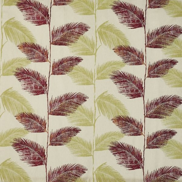Rainforest Orchid  71% Poly/ 24% Cott/ 5% Visc  139cm (useable 132cm) | 47cm  Curtaining & Accessories  Embroidered