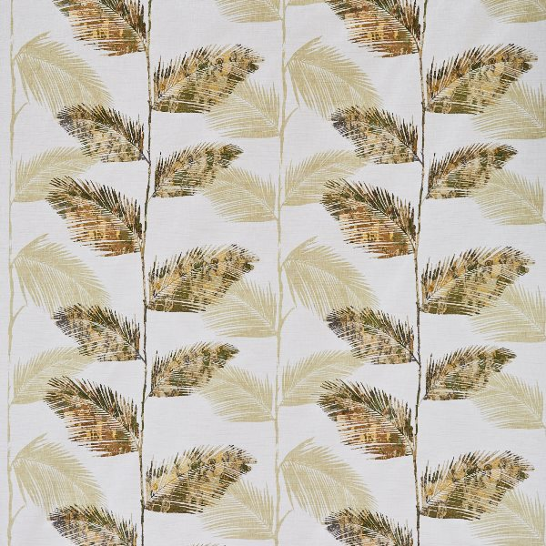 Rainforest Bamboo  71% Poly/ 24% Cott/ 5% Visc  139cm (useable 132cm) | 47cm  Curtaining & Accessories  Embroidered