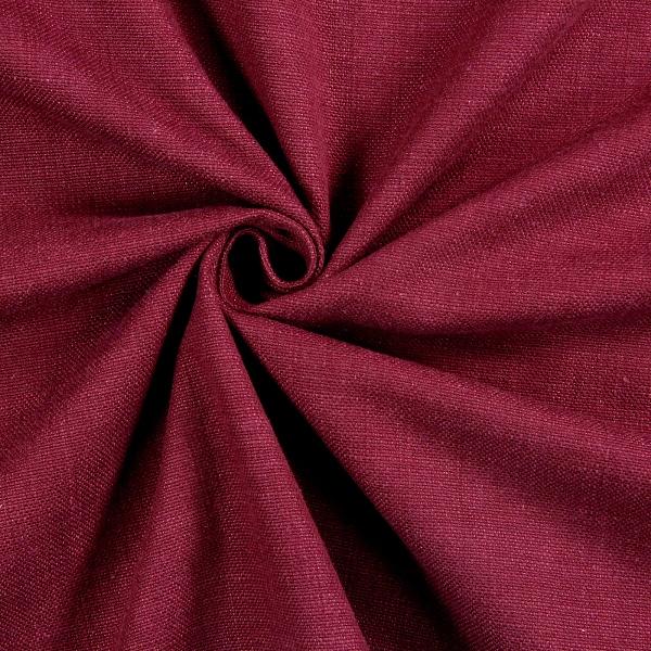 Galway Bordeaux  100% Cotton  140cm | Plain  Dual Purpose 20,000 Rubs
