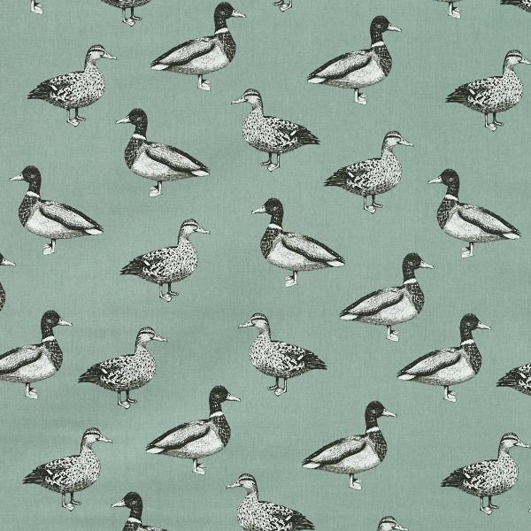 Duck Egg Shell  100% Cotton  137cm | 63cm  Curtaining