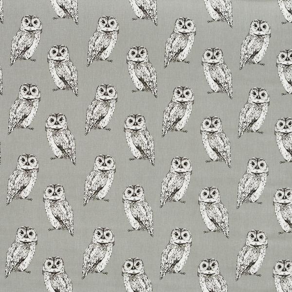 Owl Flint  100% Cotton  137cm | 21.5cm  Curtaining