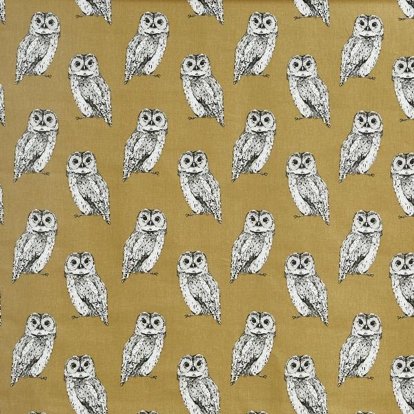 Owl Tawny  100% Cotton  137cm | 21.5cm  Curtaining