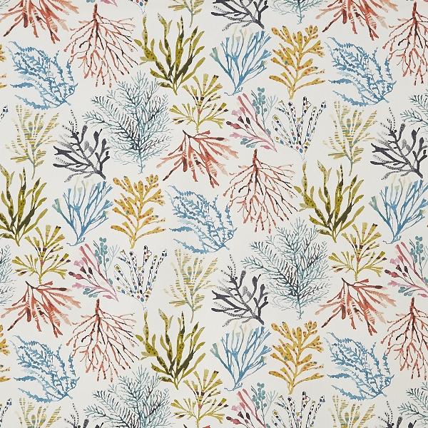 Coral Tropical  100% Cotton  137cm   64cm  Curtaining