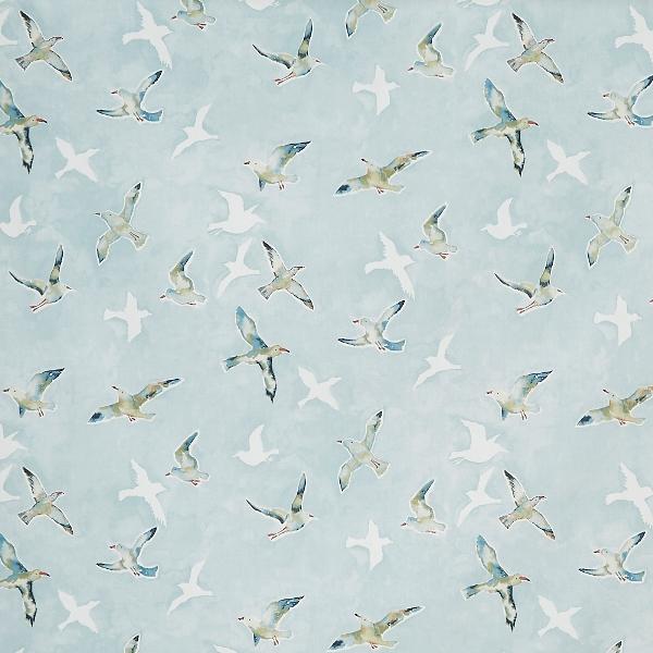 Seagulls Sky  100% Cotton  137cm   64cm  Curtaining