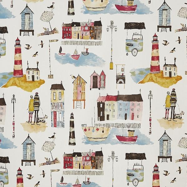 Seaside Vintage  100% Cotton  137cm   64cm  Curtaining