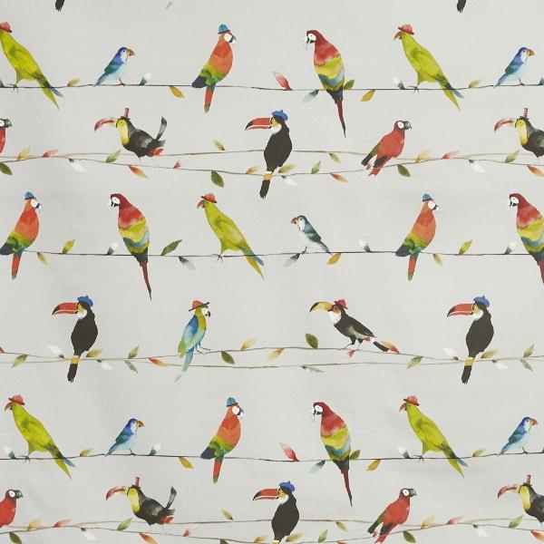 Toucan Talk Tropical  100% Cotton  137cm   62cm  Curtaining