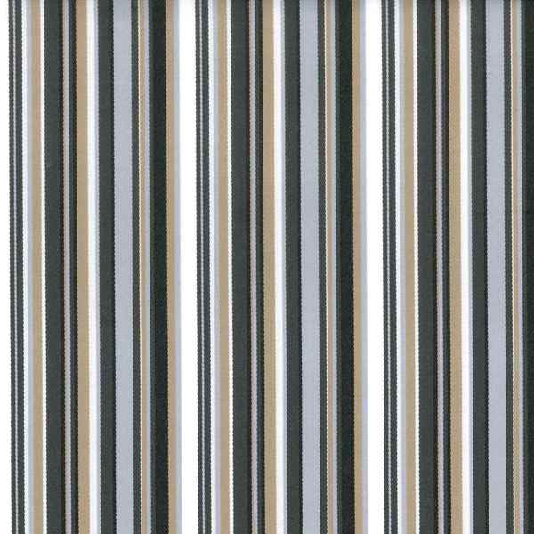 Portico Silver Sand  73% Polyester/ 27% Acrylic  Approx. 140cm | Vertical Stripe  Indoor/ Outdoor + 25,000 Rubs