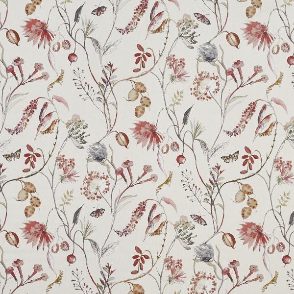 Grove Rosemist  100% Cotton  Approx. 140cm | 64cm  Curtaining