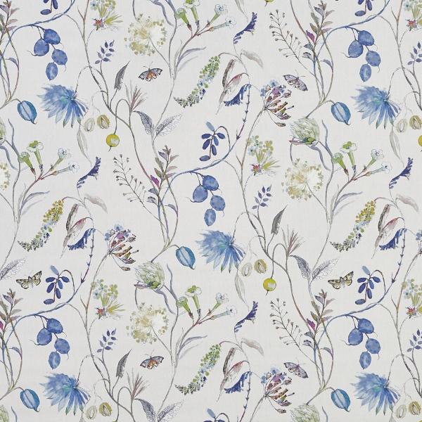 Grove Saxon Blue  100% Cotton  Approx. 140cm | 64cm  Curtaining