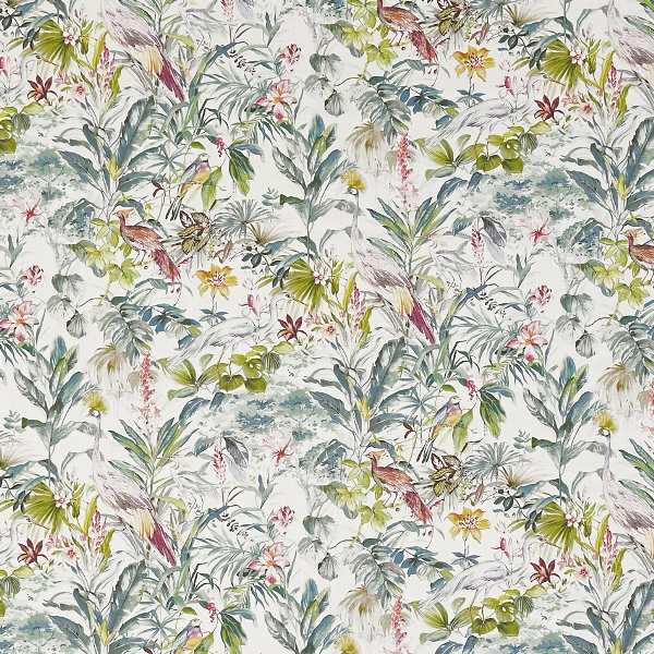 Paradiso Lagoon  100% Cotton  Approx. 140cm | 64cm  Curtaining
