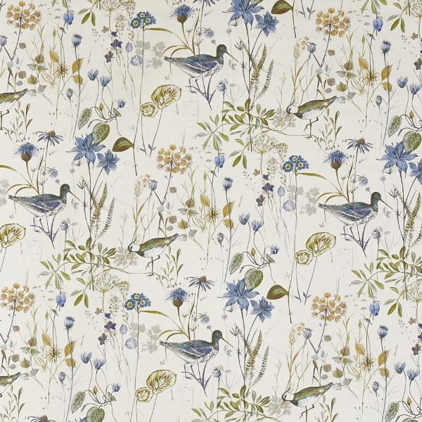 Wetlands Saxon Blue  100% Cotton  Approx. 140cm | 64cm  Curtaining