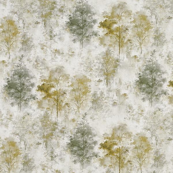 Woodlands Fennel  100% Cotton  Approx. 140cm | 64cm  Curtaining