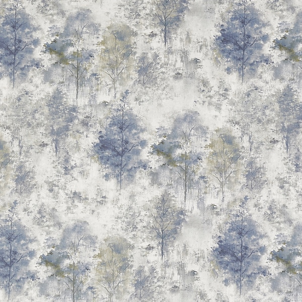 Woodlands Saxon Blue  100% Cotton  Approx. 140cm | 64cm  Curtaining