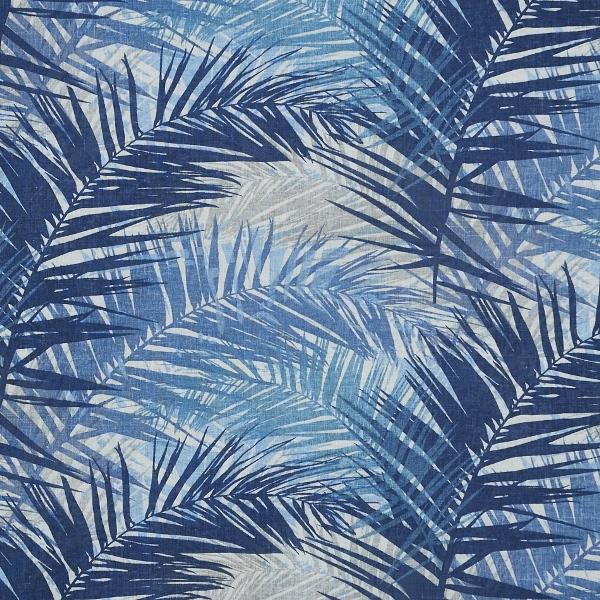 Jungle Indigo  50% Cotton/ 50% Linen  Approx. 147cm   62cm  Dual Purpose 36,000 Rubs