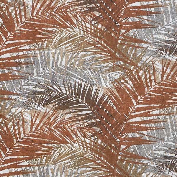 Jungle Mandarin  50% Cotton/ 50% Linen  Approx. 147cm   62cm  Dual Purpose 36,000 Rubs
