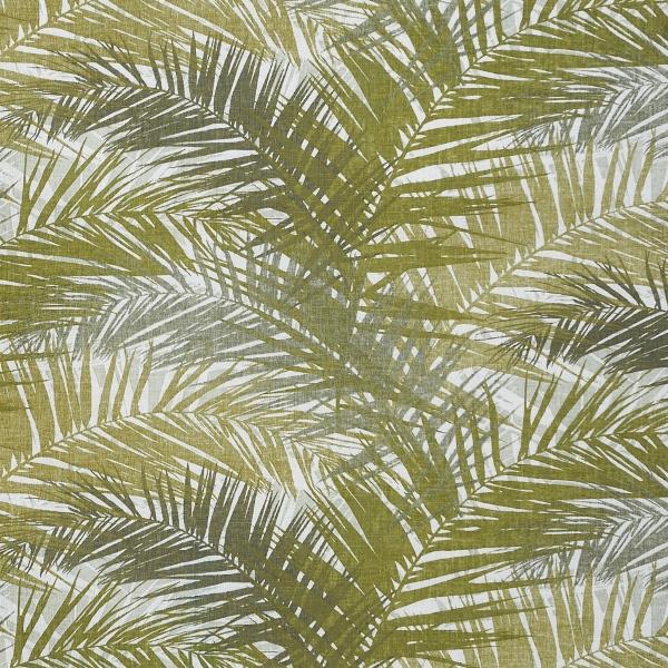 Jungle Palm  50% Cotton/ 50% Linen  Approx. 147cm   62cm  Dual Purpose 36,000 Rubs