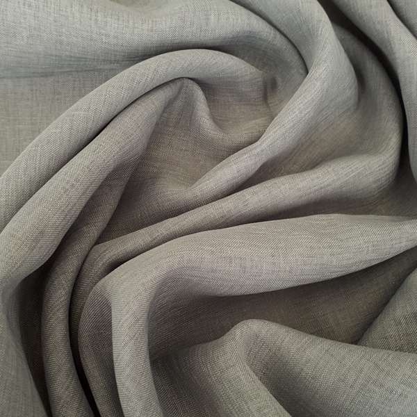 Storm Steel  100% Polyester  Approx. 300cm drop   Plain  Curtaining