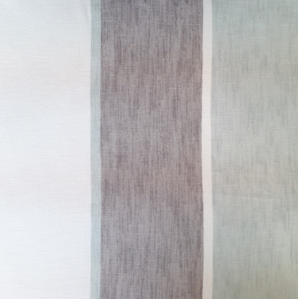 Spectra Duck Egg  100% Polyester  Approx. 300cm drop   Vertical Stripe  Curtaining