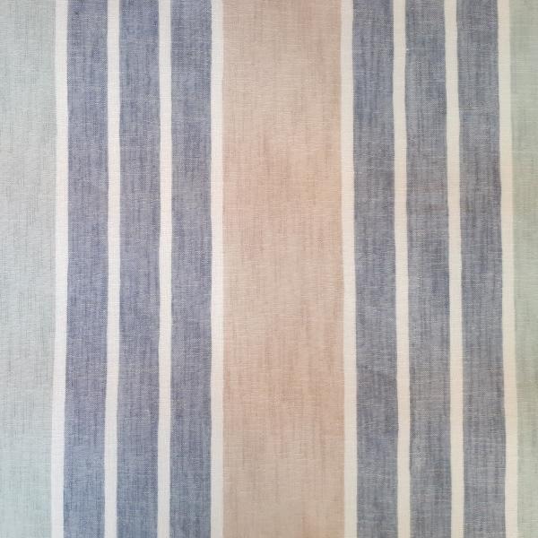 Stella Marina  100% Polyester  Approx. 300cm drop   Vertical Stripe  Curtaining