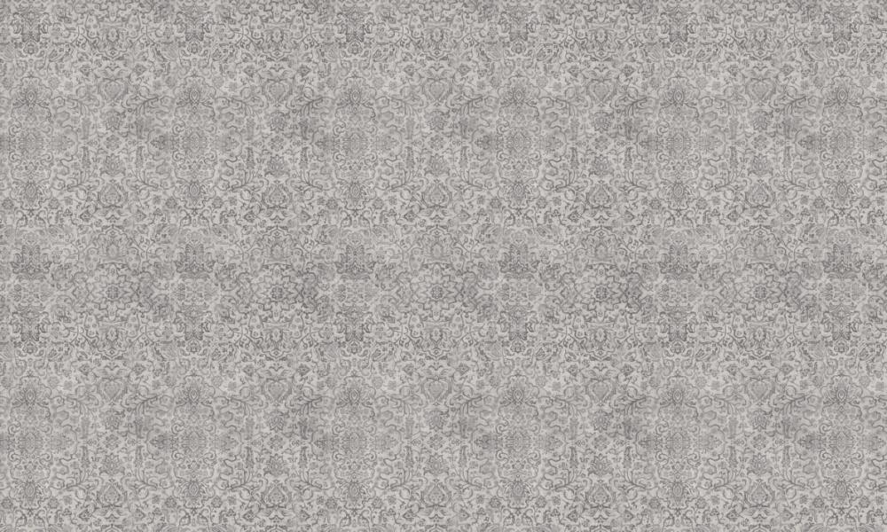 Arabesque Smoke  100% Cotton  Approx. 280cm Drop (Railroaded) | V: 65cm H: 70cm  Dual Purpose 20,000 Rubs