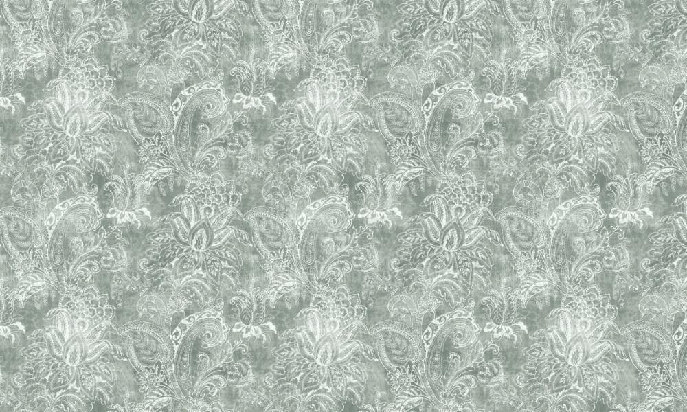 Equator Sage  100% Cotton  Approx. 280cm Drop (Railroaded) | V: 65cm H:70  Dual Purpose 20,000 Rubs