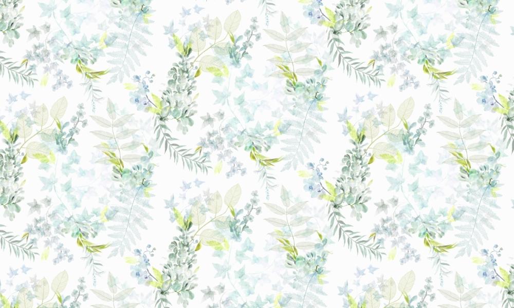 Everglade Mint  100% Cotton  Approx. 280cm Drop (Railroaded) | V: 70cm H:70cm (half drop)  Dual Purpose 20,000 Rubs