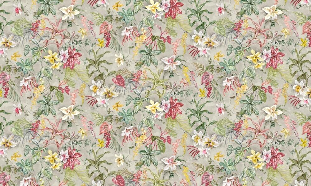 Greenhouse Sienna  100% Cotton  Approx. 280cm Drop (Railroaded) | V: 99cm H:199cm  Dual Purpose 20,000 Rubs