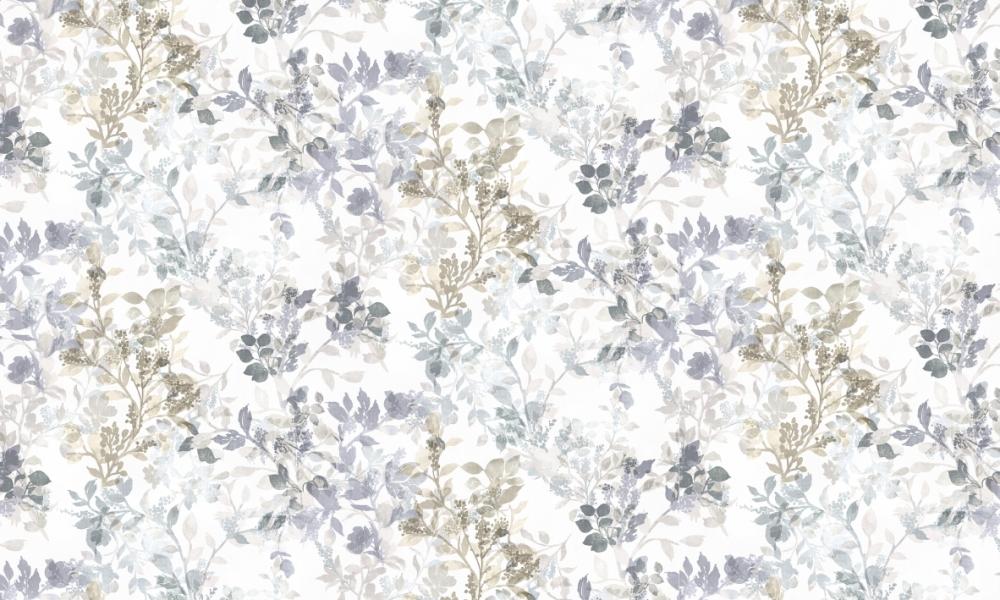 Mangrove Dove  100% Cotton  Approx. 280cm Drop (Railroaded) | V: 70cm H:70cm  Dual Purpose 20,000 Rubs