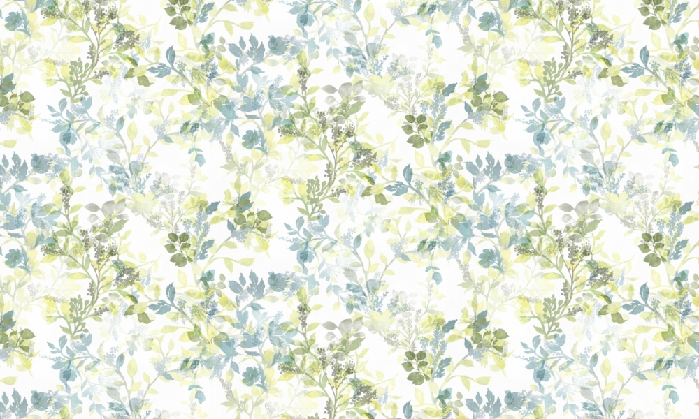 Mangrove Moss  100% Cotton  Approx. 280cm Drop (Railroaded) | V: 70cm H:70cm  Dual Purpose 20,000 Rubs