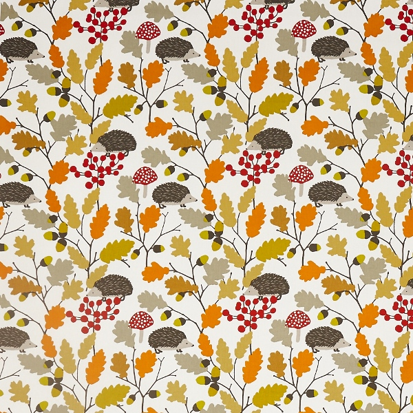 Prickly Autumn  100% Cotton  Approx. 137cm | 32cm  Curtaining