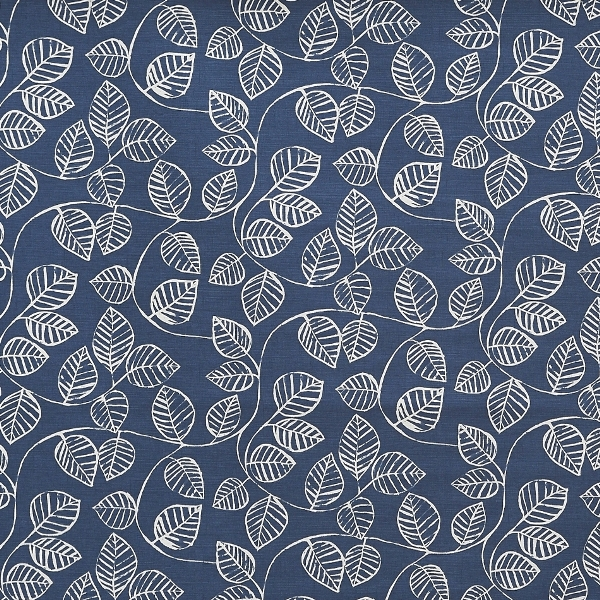 Caracus Indigo  100% Cotton  Approx. 137cm | 32cm  Curtaining