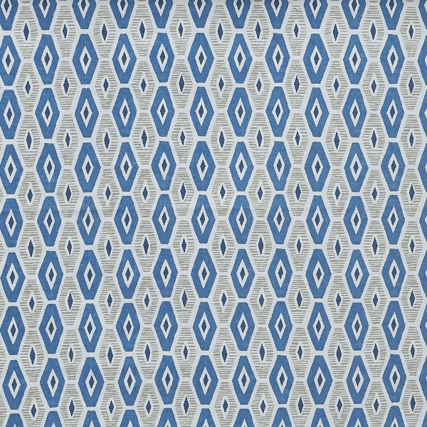 Karaz Indigo  100% Cotton  Approx. 137cm | 21cm  Curtaining