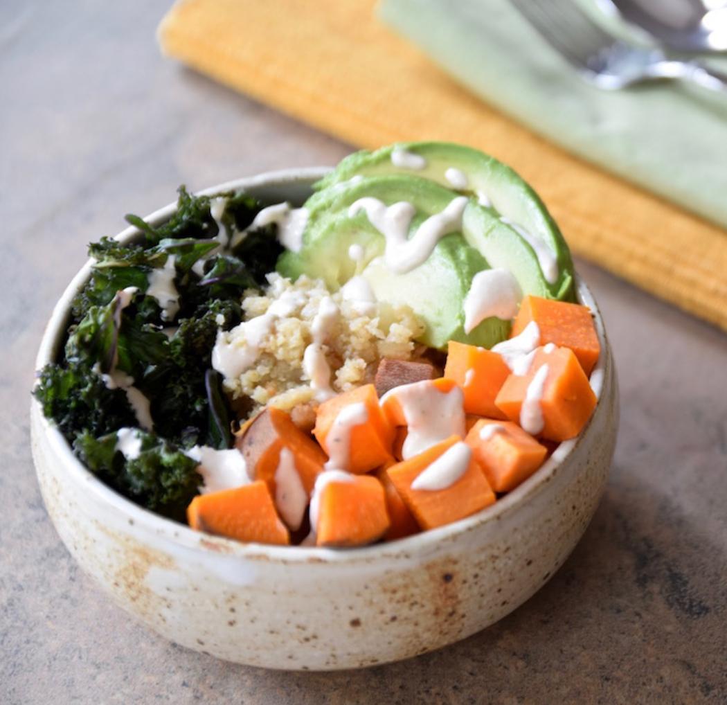 Grain-Free Cauliflower Rice Buddha Bowl