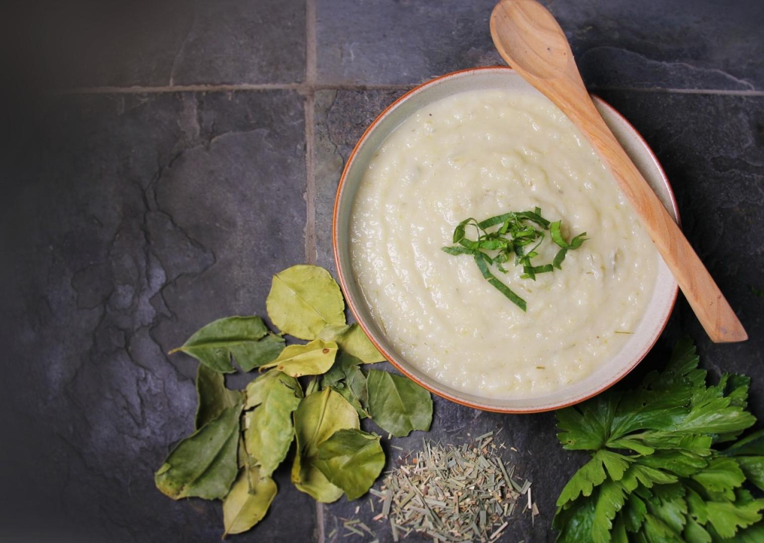 Celeriac Coconut Soup