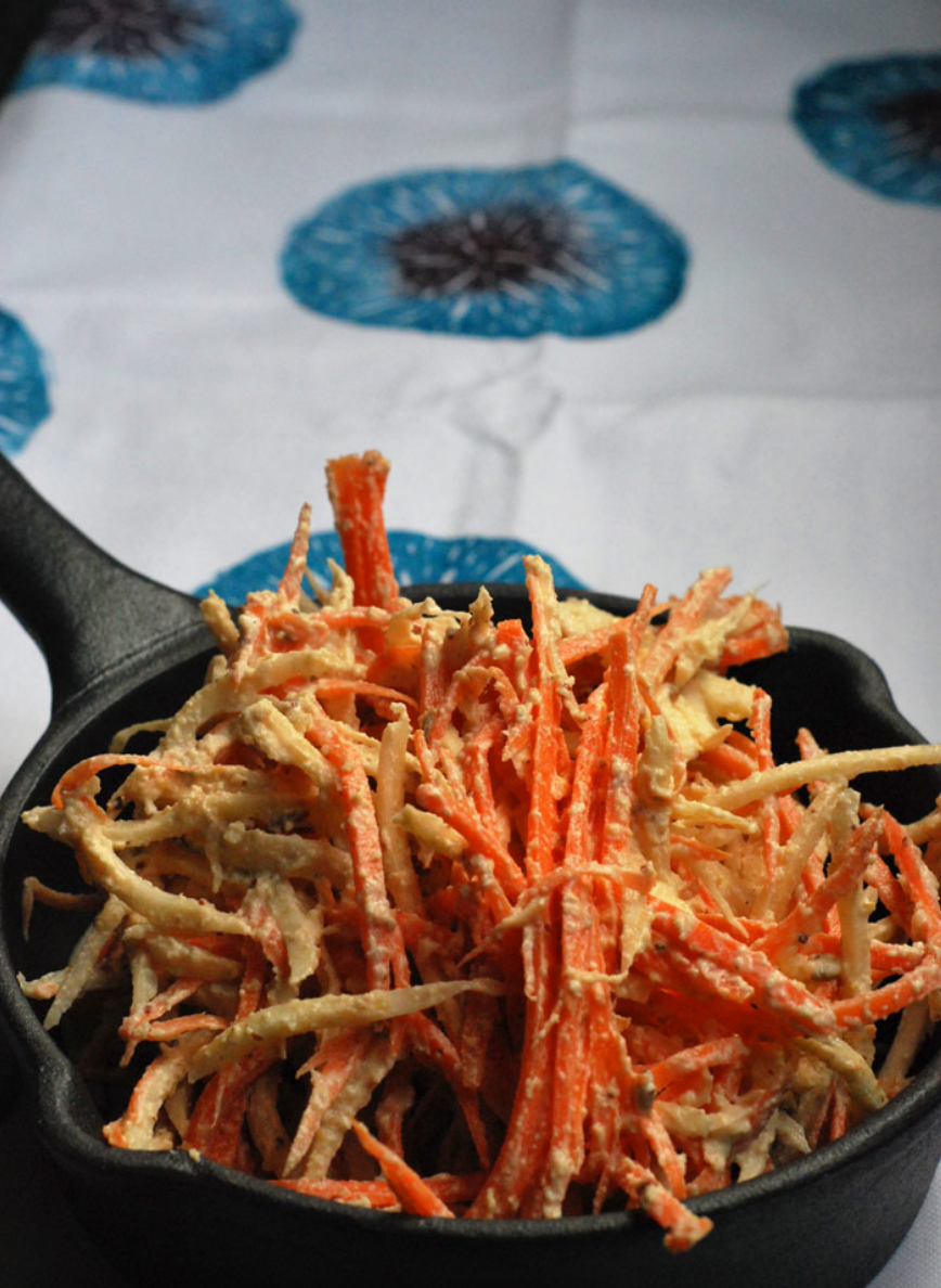 Carrot Celeriac Slaw