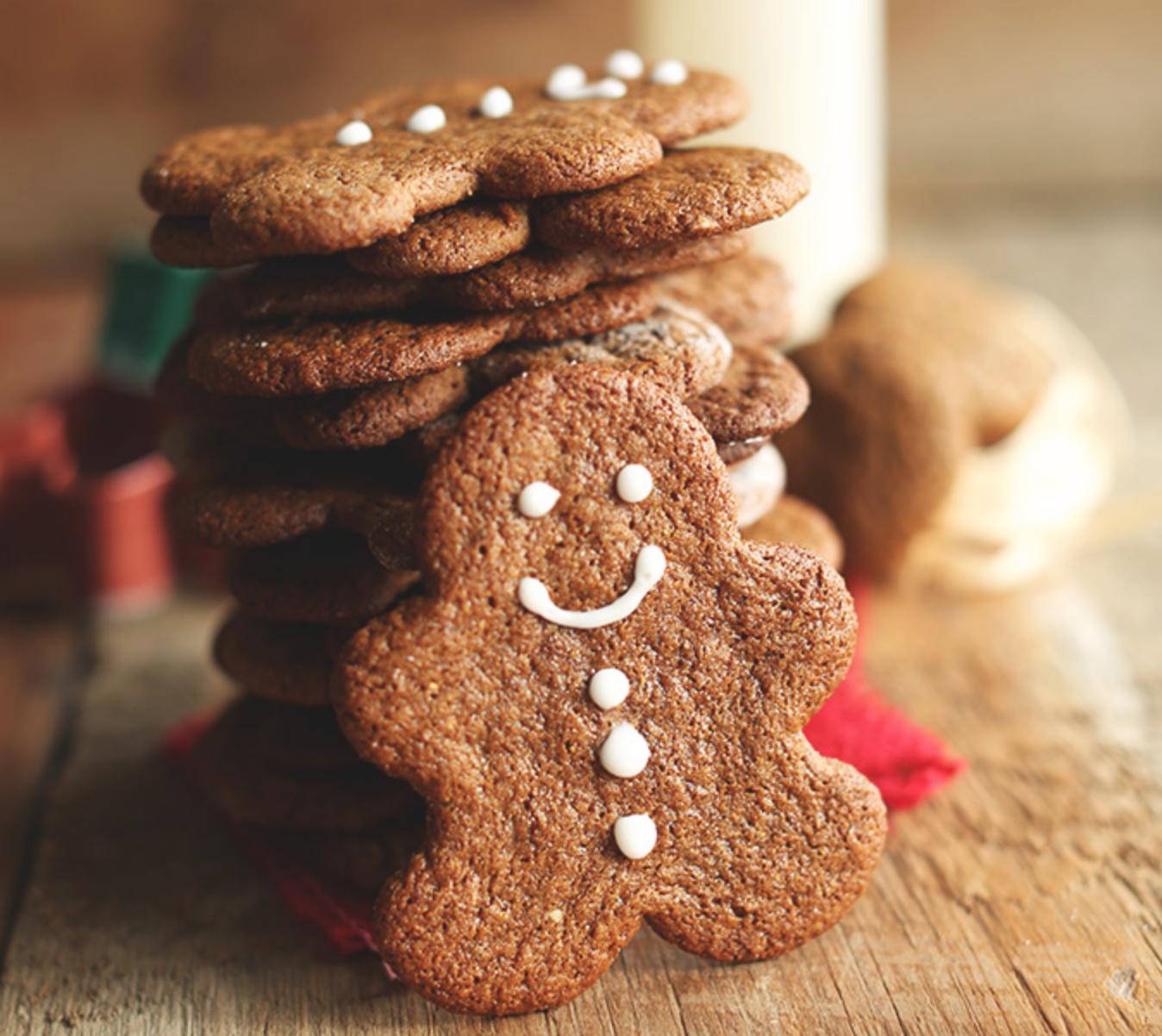 Minimalist Baker Vegan Gluten-Free Gingerbread Men