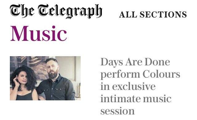 Days Are Done The Telegraph