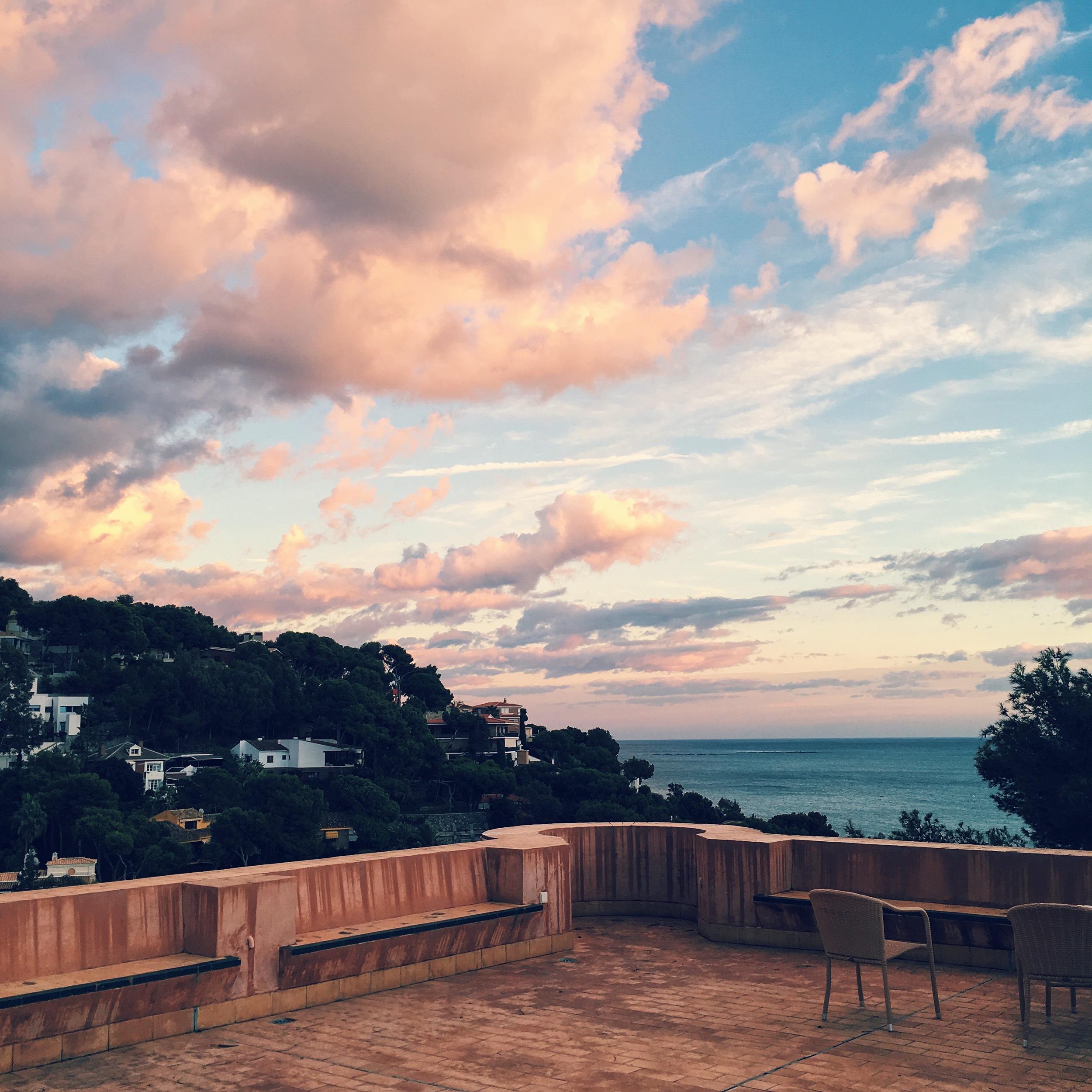 hotel castillo De Santa ocean view.