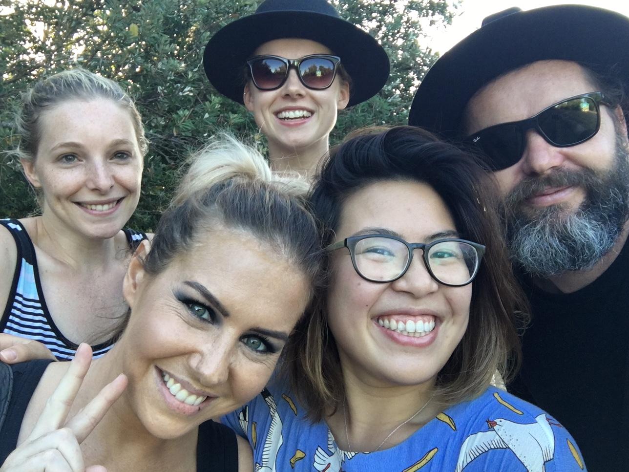Kimberlee, Lyndel, Daniel, Rosemary & Janice - The team <3
