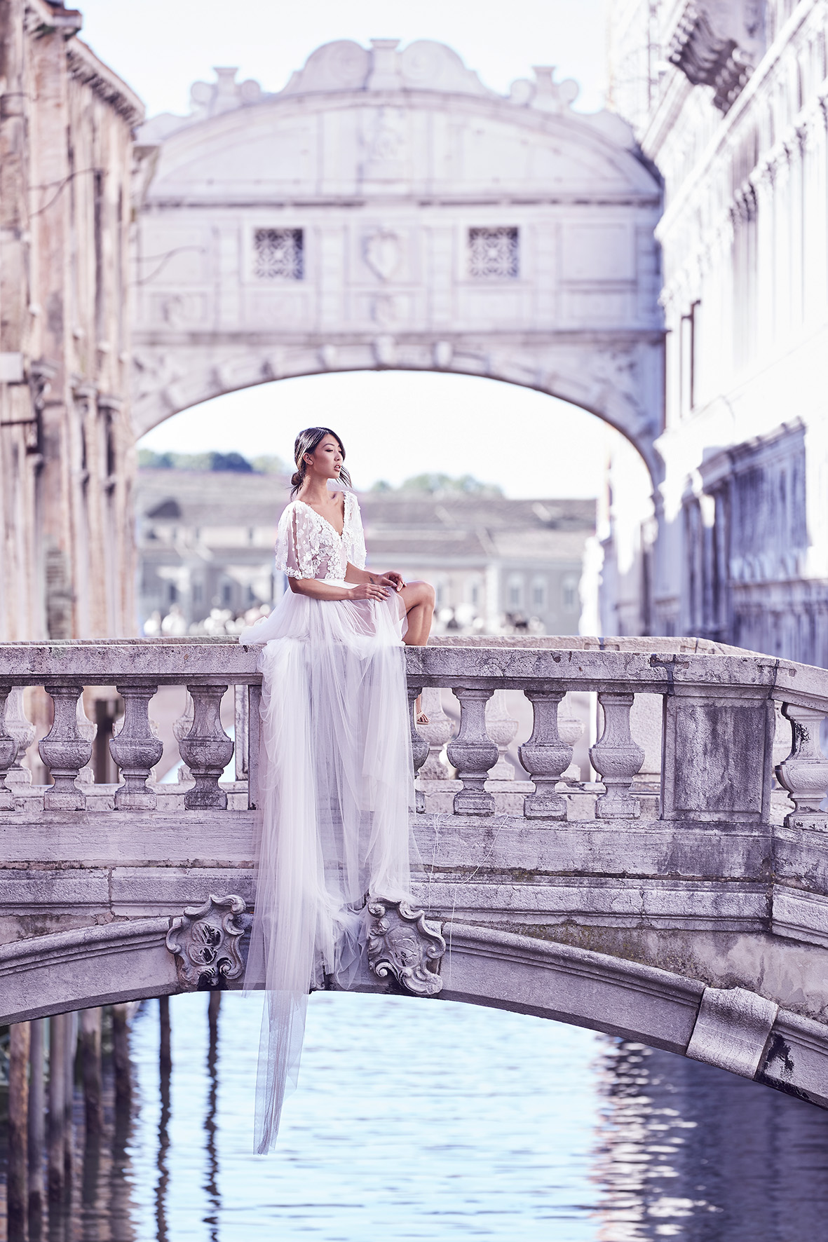 Bridge of sighs wedding photo by Lost In Love Photography