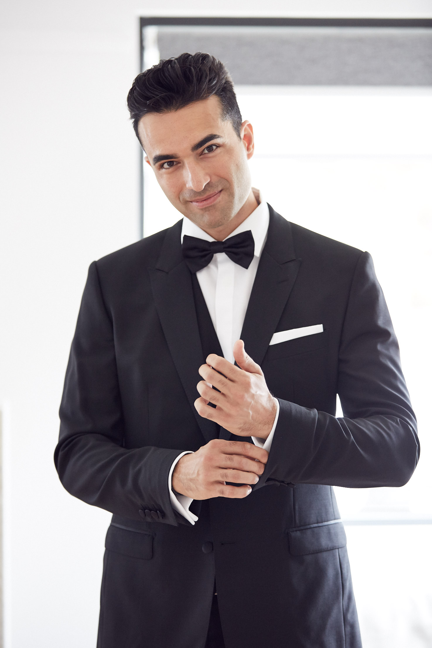 Dolce & Gabbana groom by Lost In Love Photography