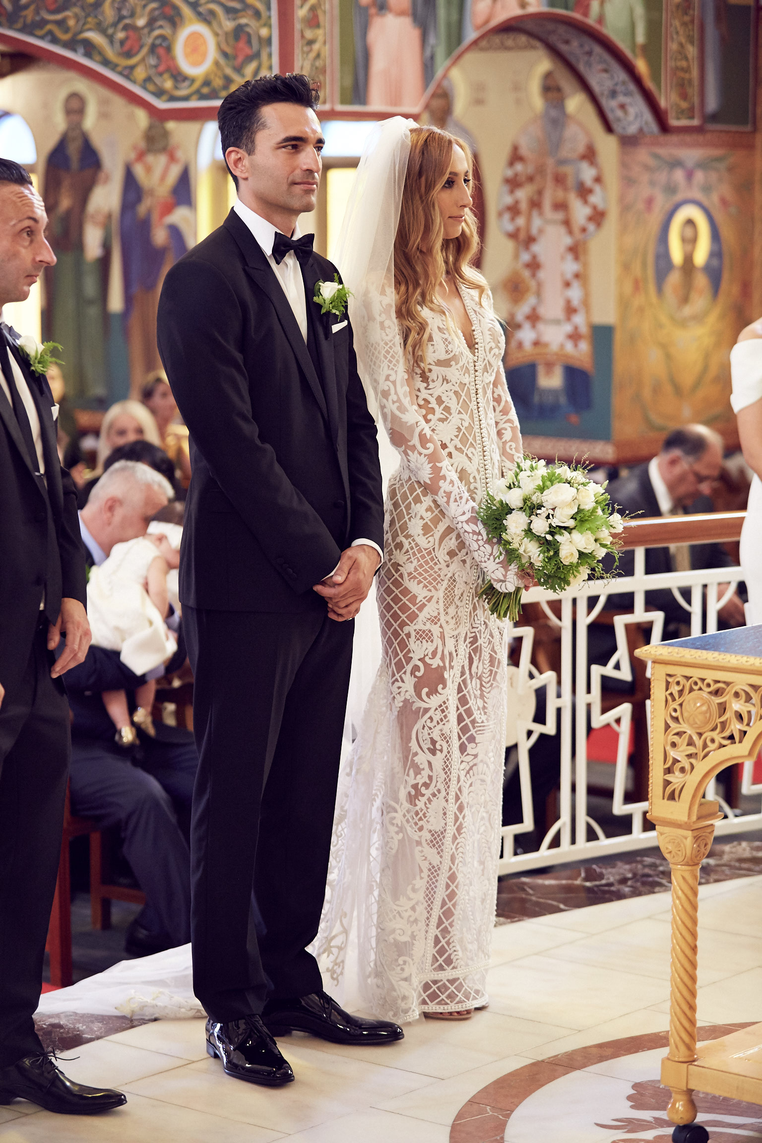 Greek Orthodox church wedding by Lost In Love Photography