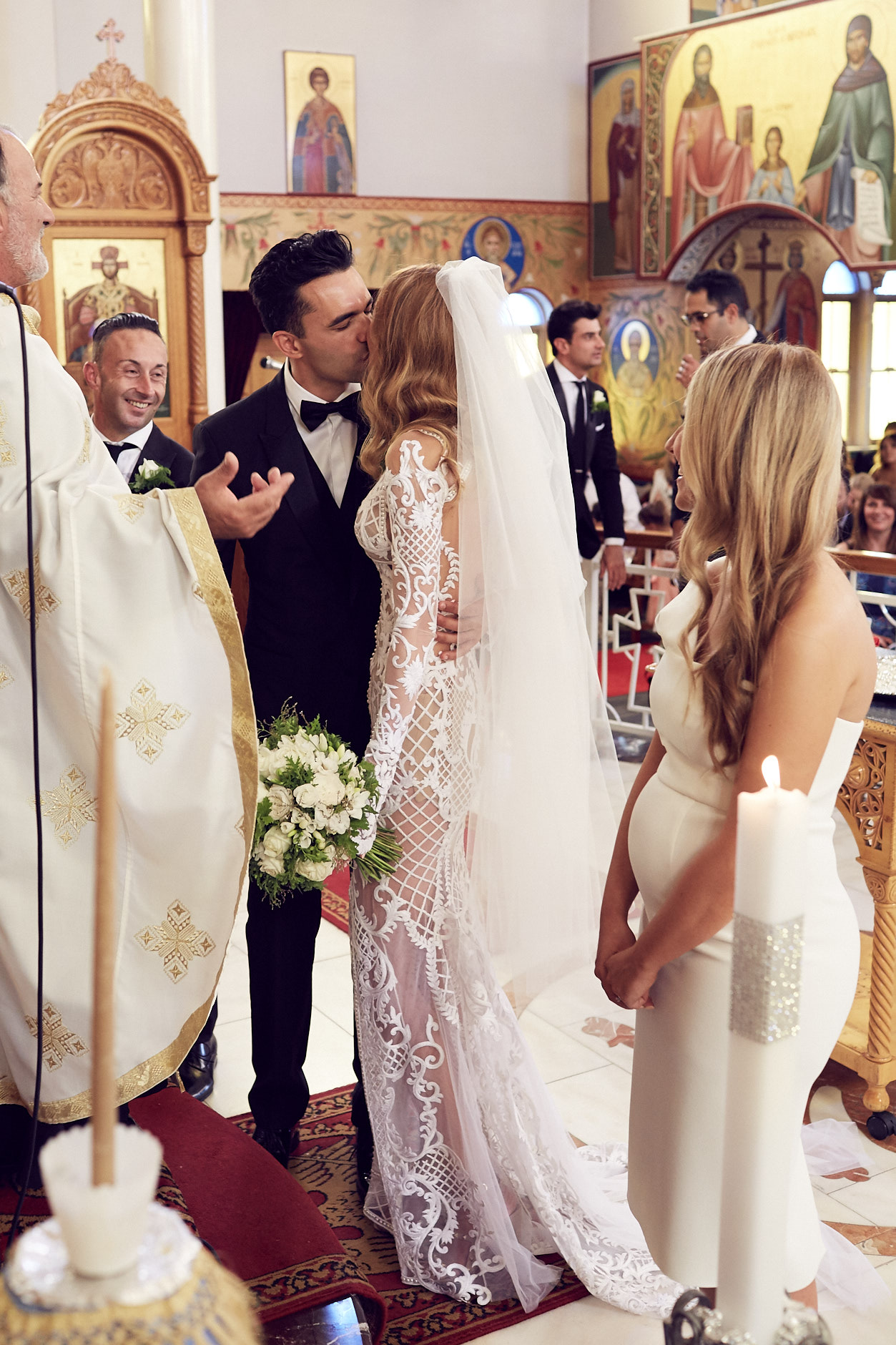 Greek Orthodox church wedding Melbourne By Lost In Love Photography