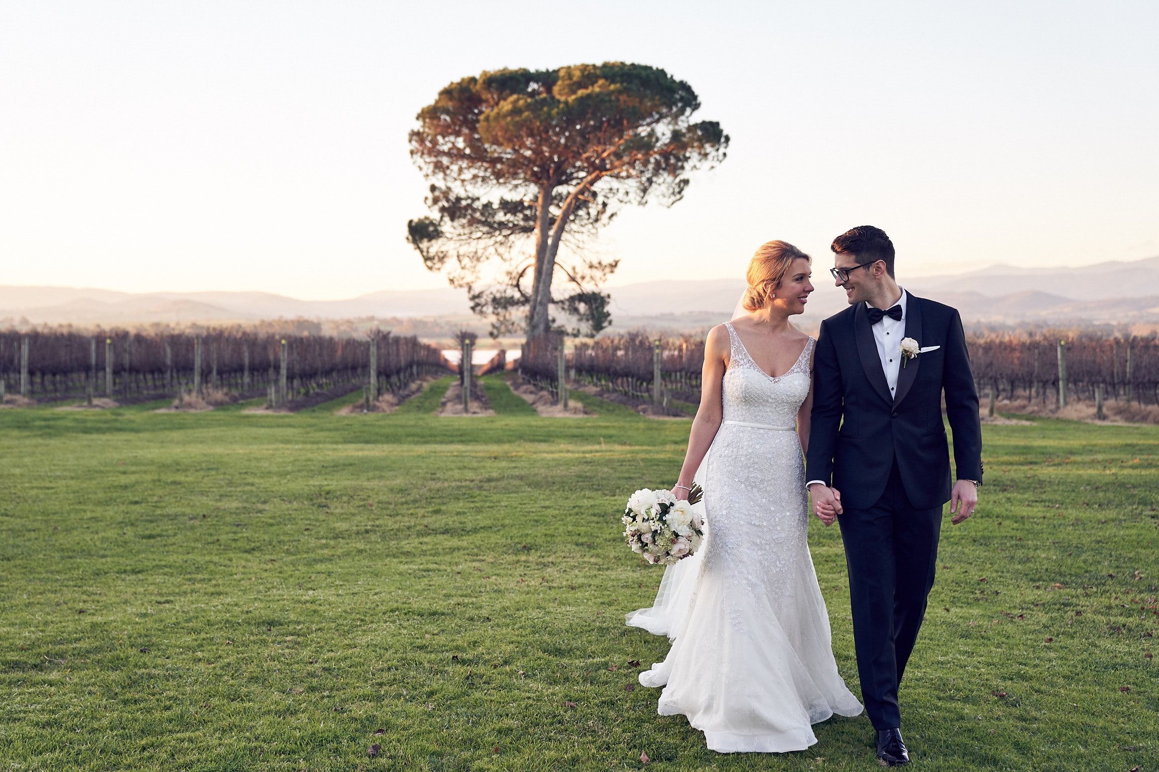 A Winter wedding at Stones Of The Yarra Valley