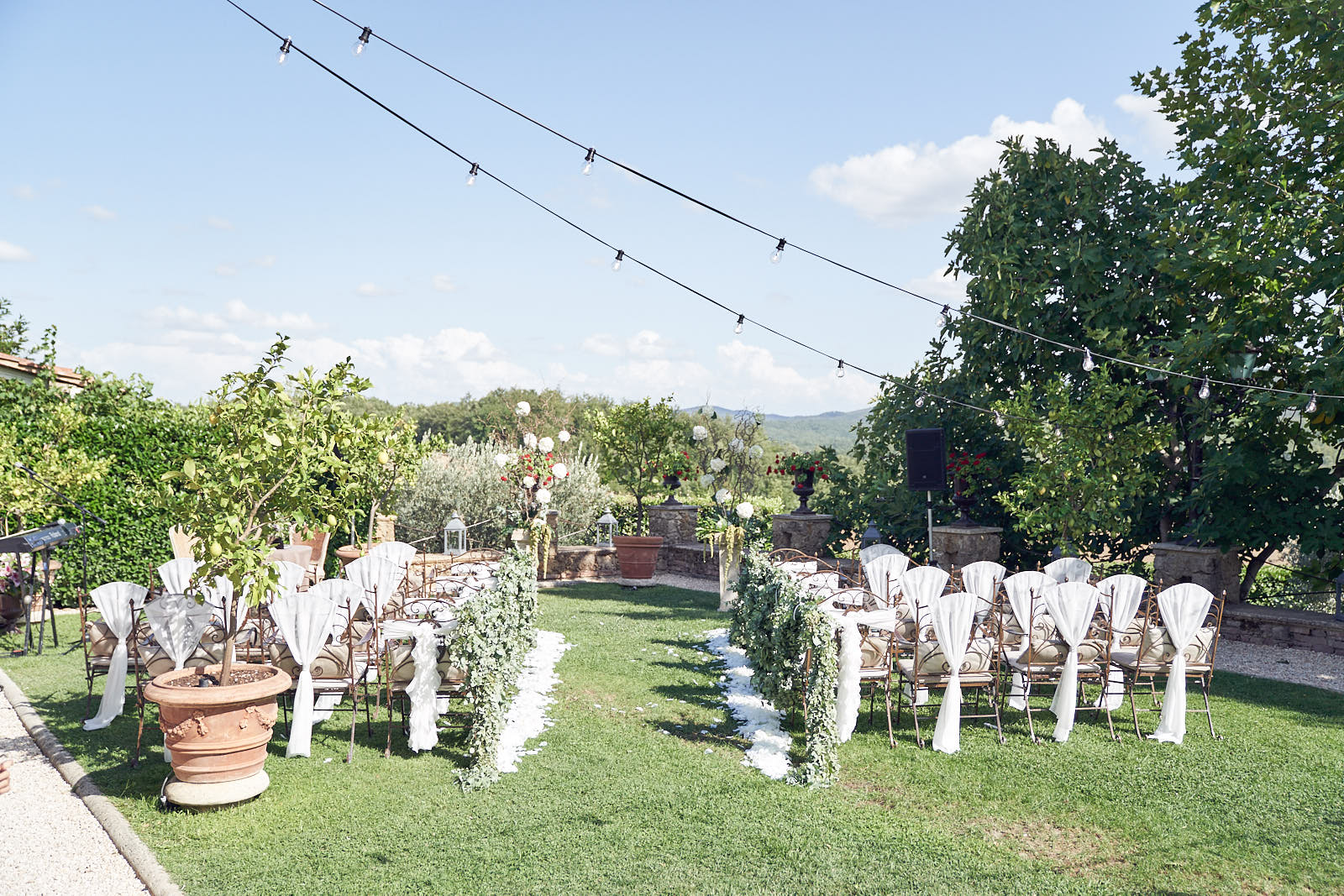 Borgo Santo Pietro Wedding Tuscany. By Lost In Love Photography