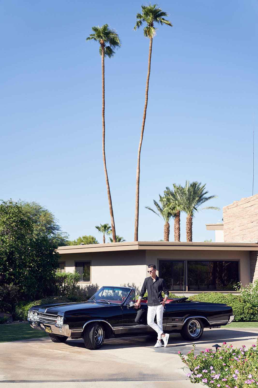 Shaun Lyle a the BEAR launch Frank Sinatra's House Palm Springs by Lost In Love Photography