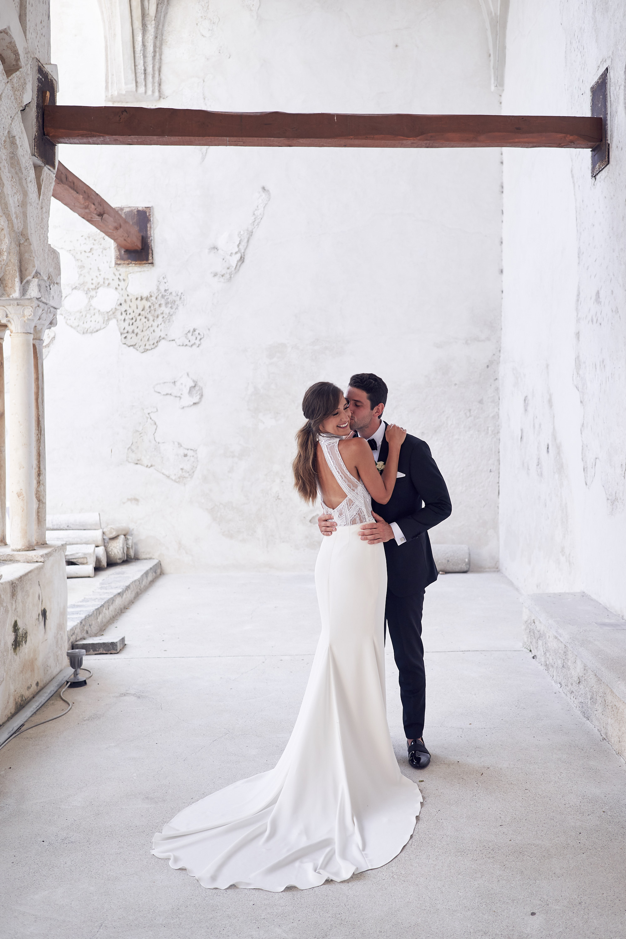 The sweetest first see. Amalfi Coast Wedding by Lost In Love Photography