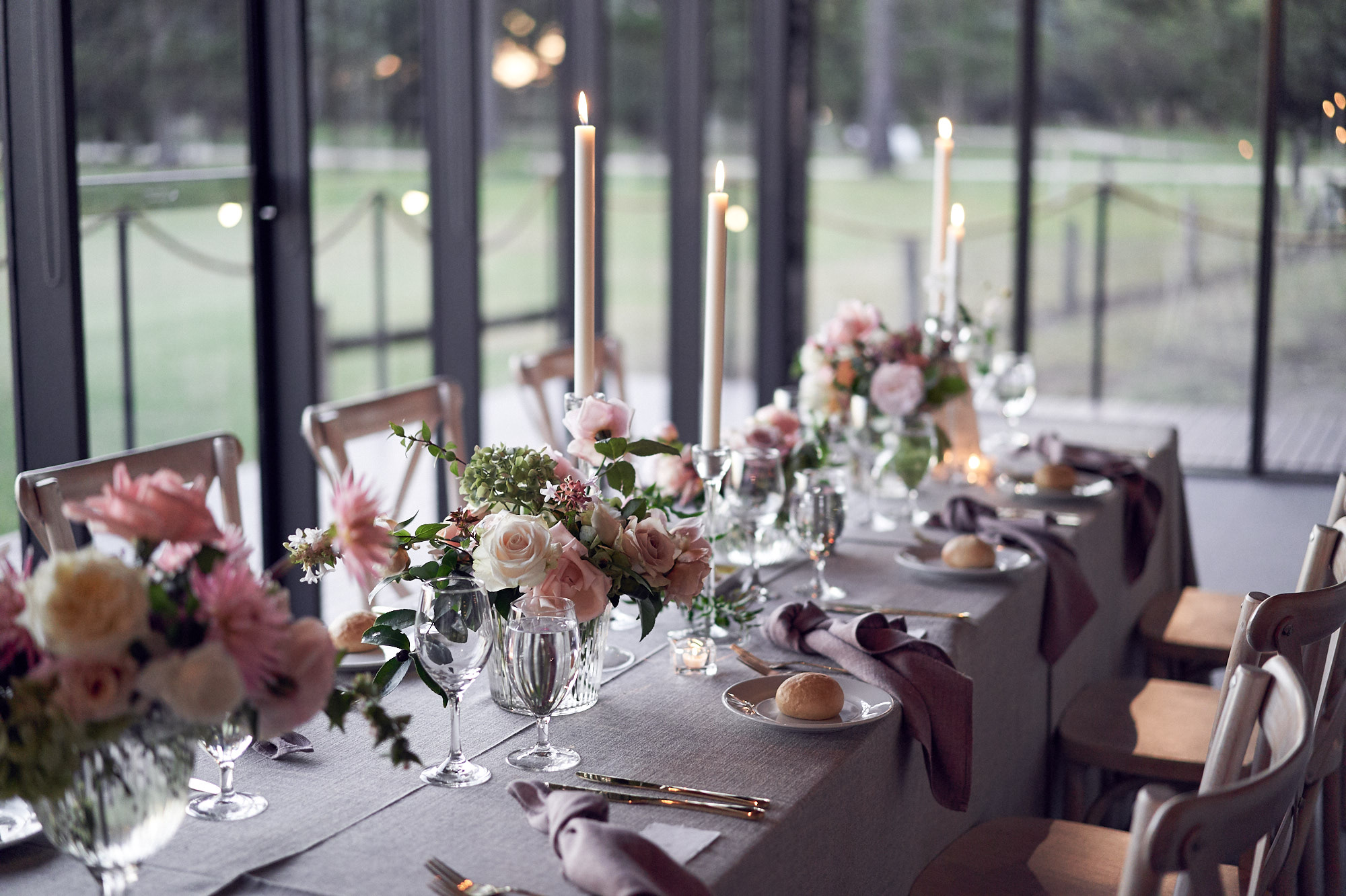 Autumn styling by Weddings of desire at werribee mansion wedding by lost in love photography