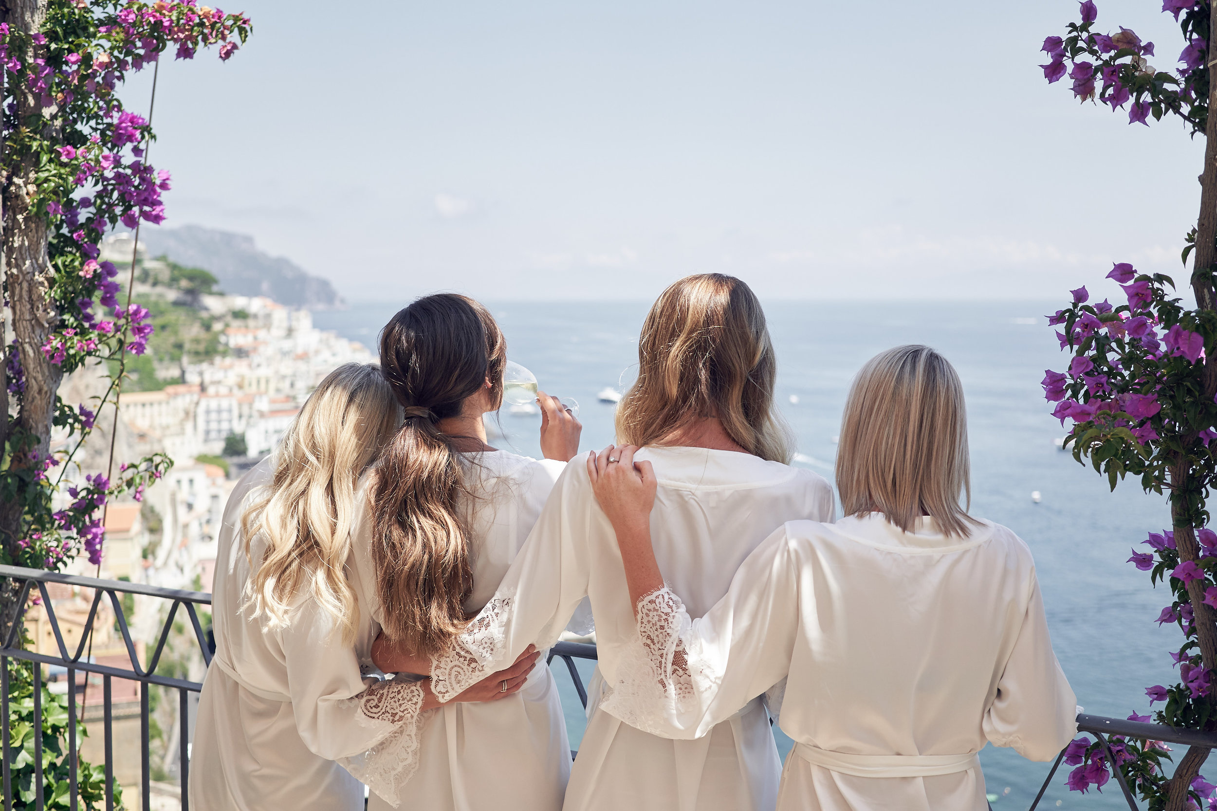 Intimate wedding Amalfi Coast. Photo by Lost In Love Photography