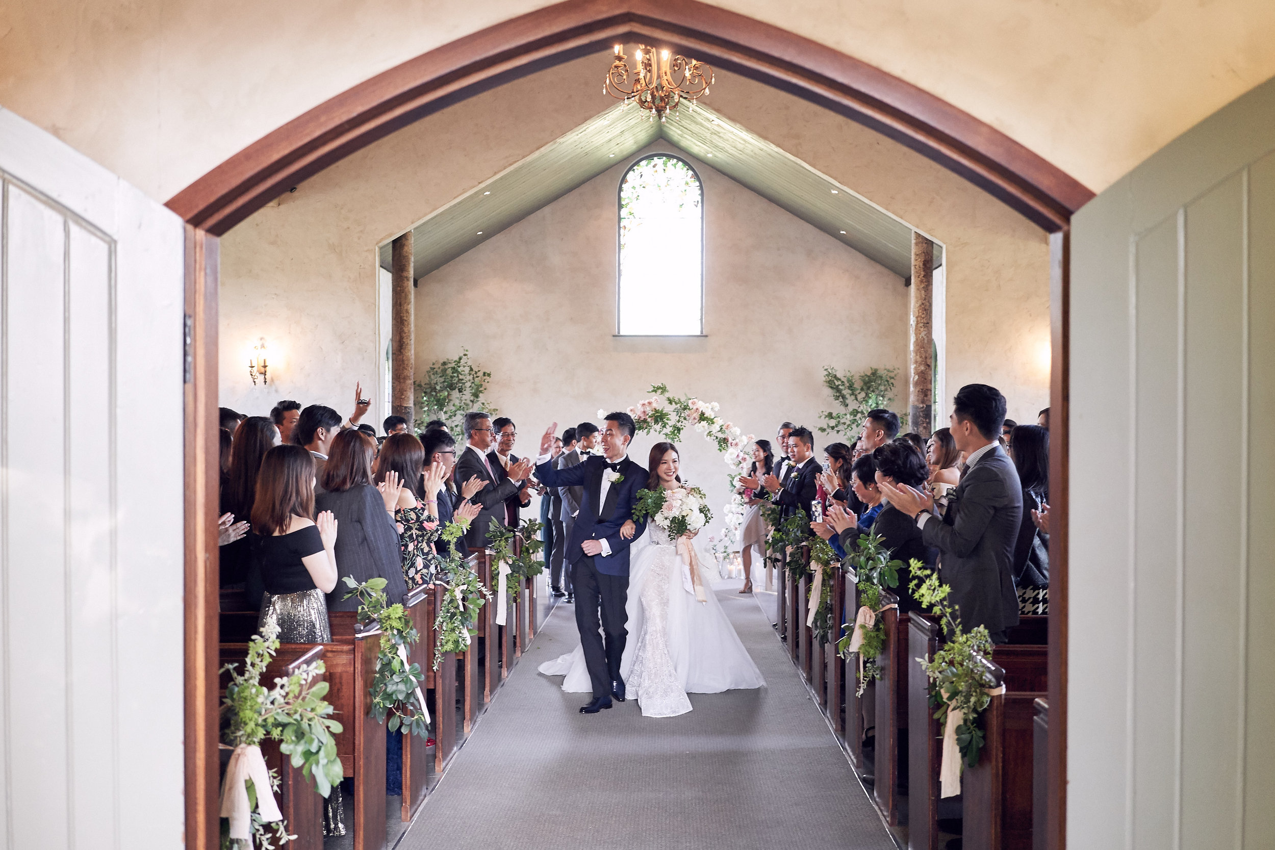 stones of the yarra valley chapel wedding. By Lost In Love Photography